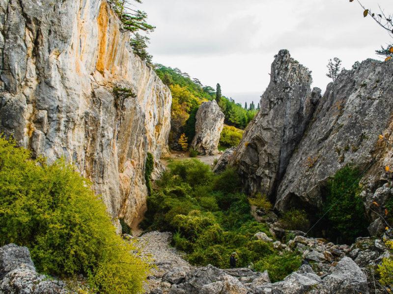 Никитская расселина — Крым