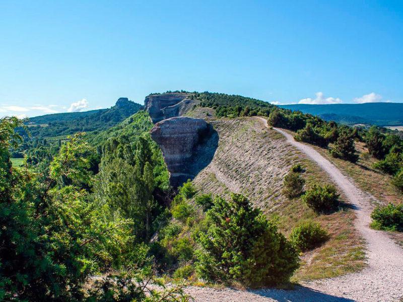 гора Крокодил — Крым