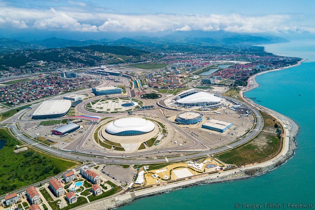 Выходные в Олимпийском Сочи - автобусный тур из Севастополя