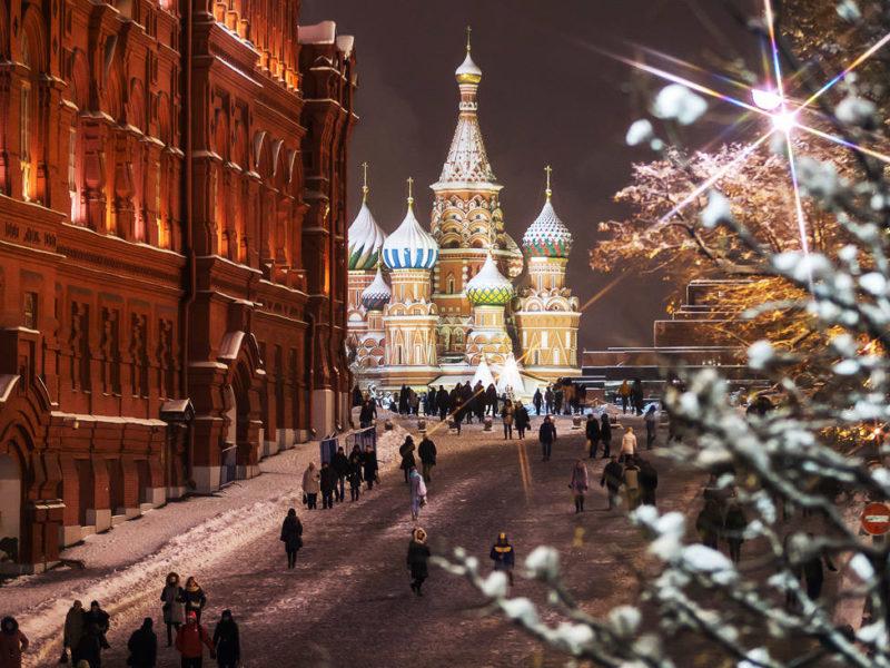 «Новый год в Москве» — автобусный тур из Крыма (Севастополя).